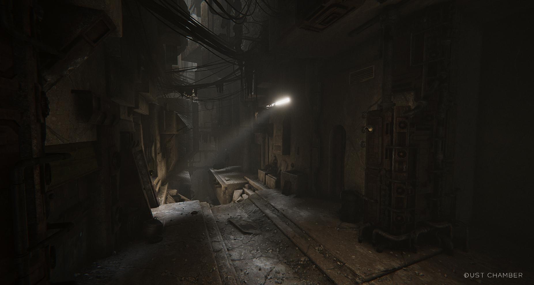 day | Dust Chamber : Бесконечная Структура, пыль, спуск в бездну