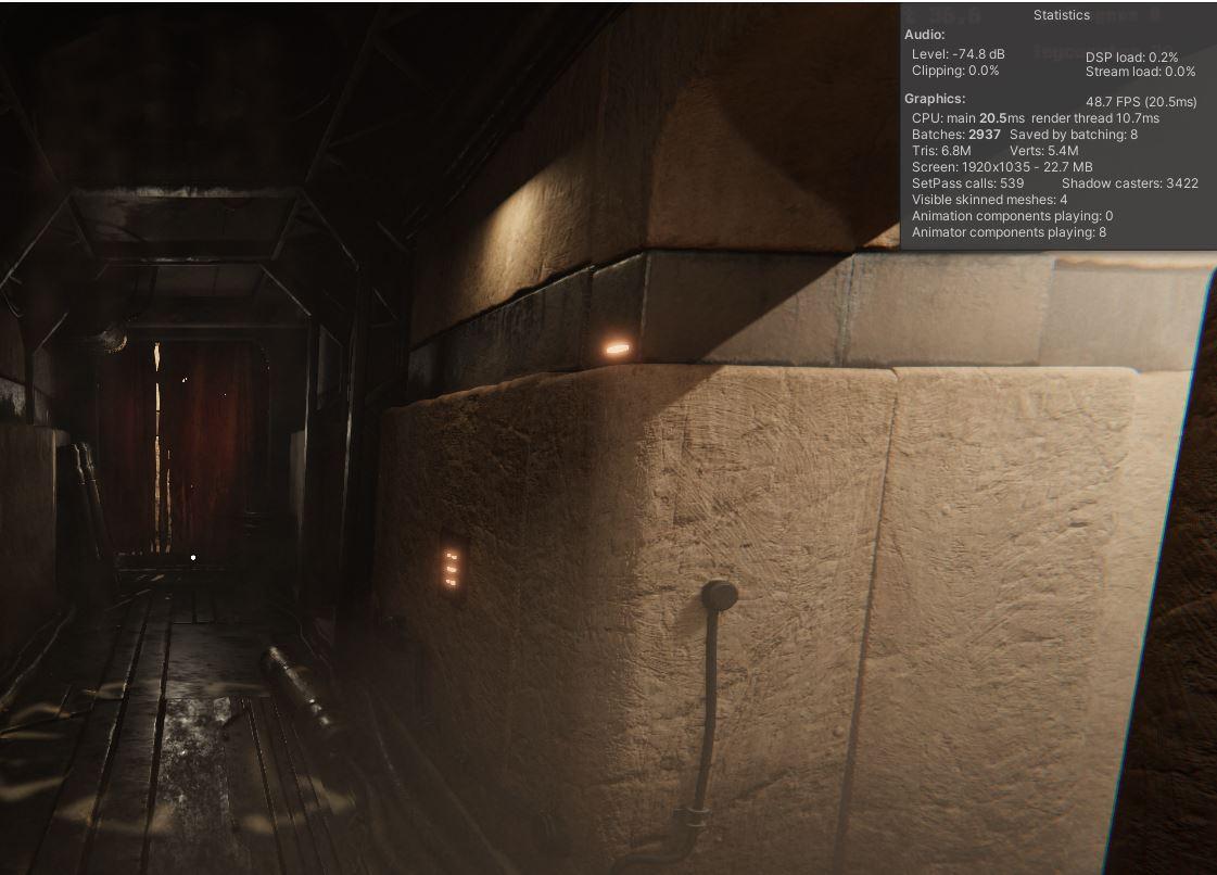 Capture | Dust Chamber : Бесконечная Структура, пыль, спуск в бездну