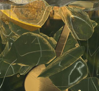 Side caustic | Вертексная каустика воды и маска