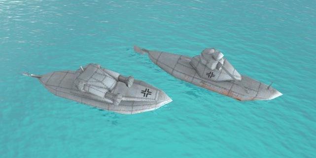 1 (2) | водная мировая война RTS