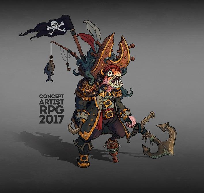 1 пират-рендер3 | Концепт-художник/2D-художник