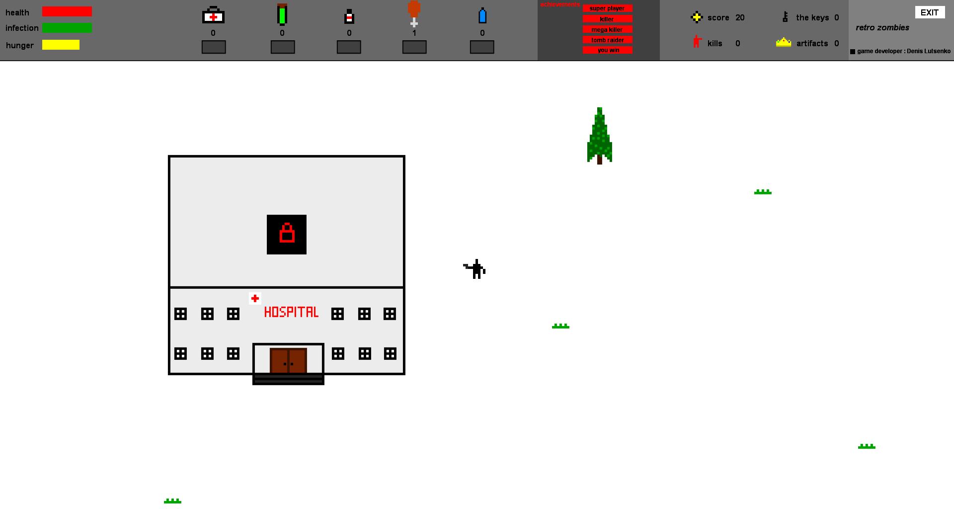 2015-09-22 02-11-57 Скриншот экрана | Retro Zombies