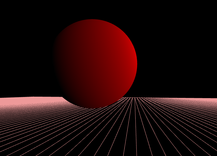 sphere | баг в реализации примитивного освещения. простого шейдера
