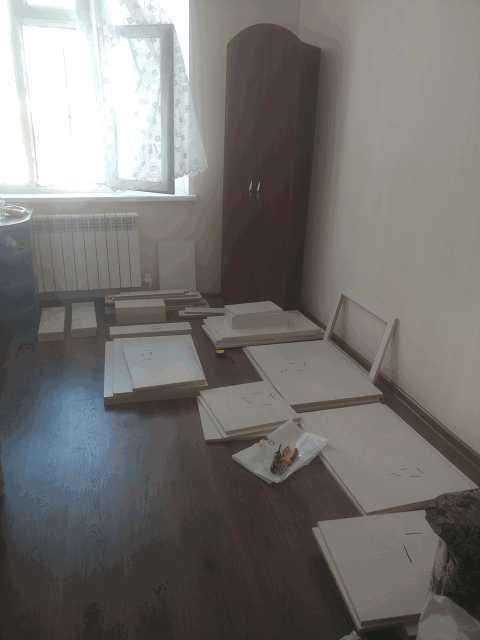 Ипотечная квартира - кухонные шкафы в разборе | Перепись ипотечников