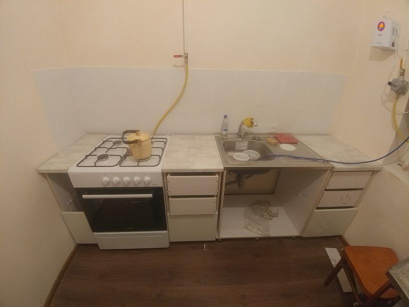 Шкафчики доделываются и кухня выглядит уютнее… | Перепись ипотечников