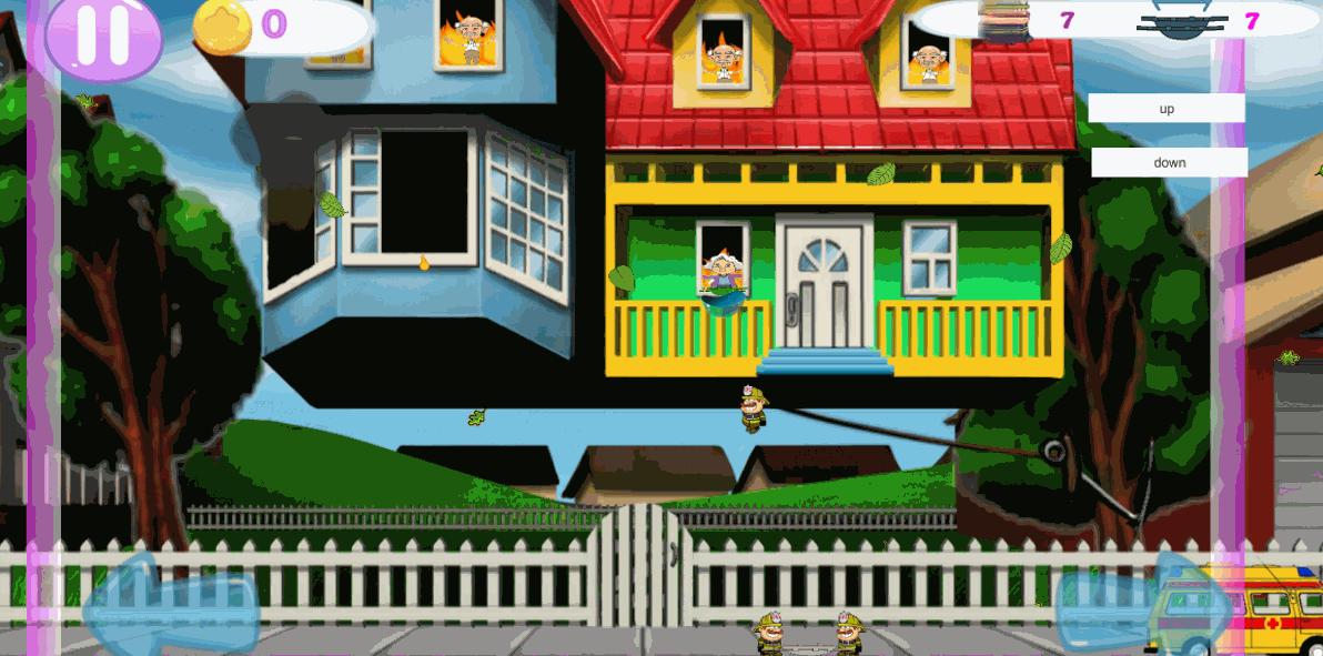 Скриншот2 | Летающие Пожарные