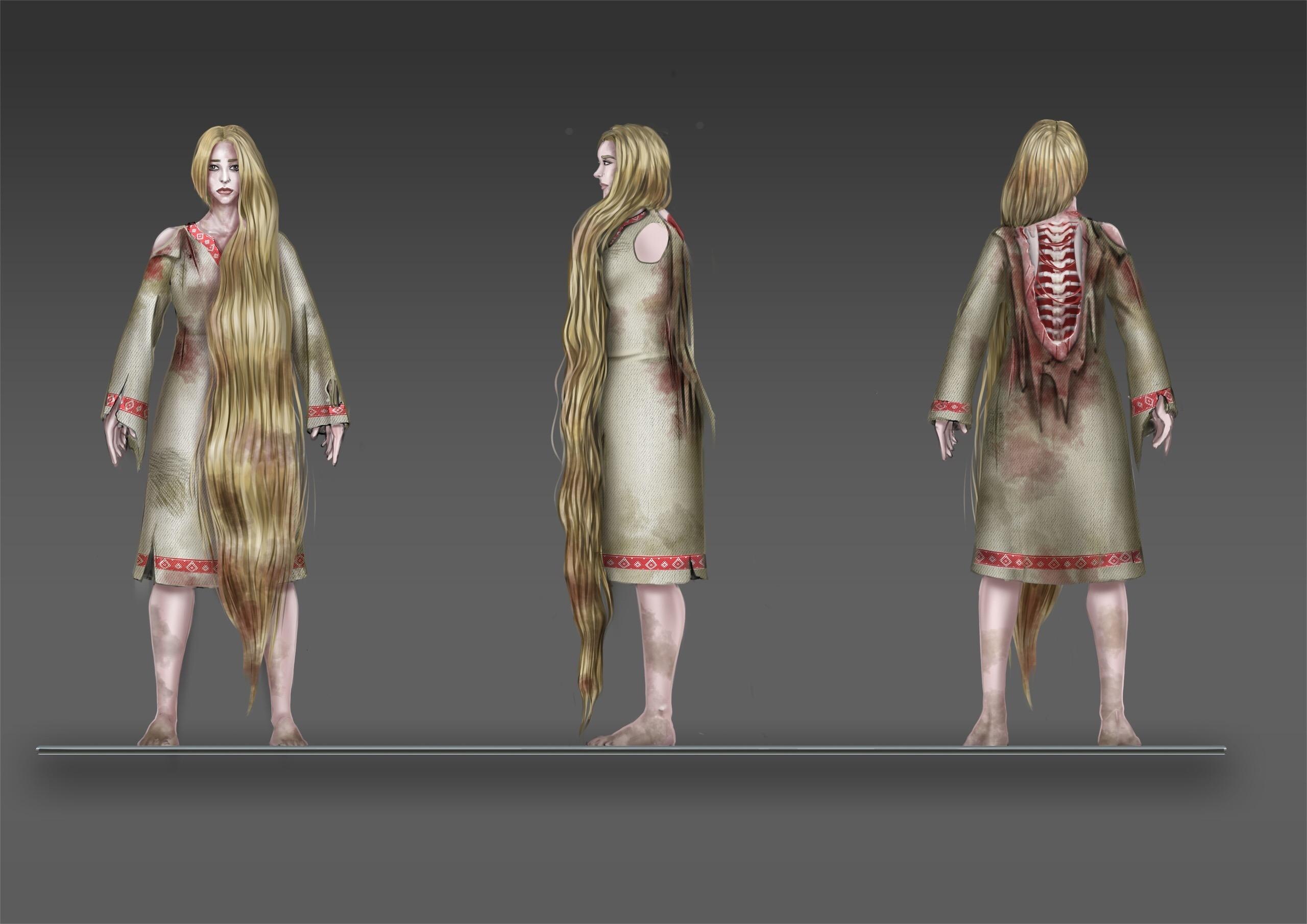 Навка (состояние покоя) | 3D художник, 3D аниматор