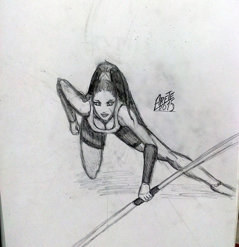 Девочка | Учимся рисовать, прогресс ли?