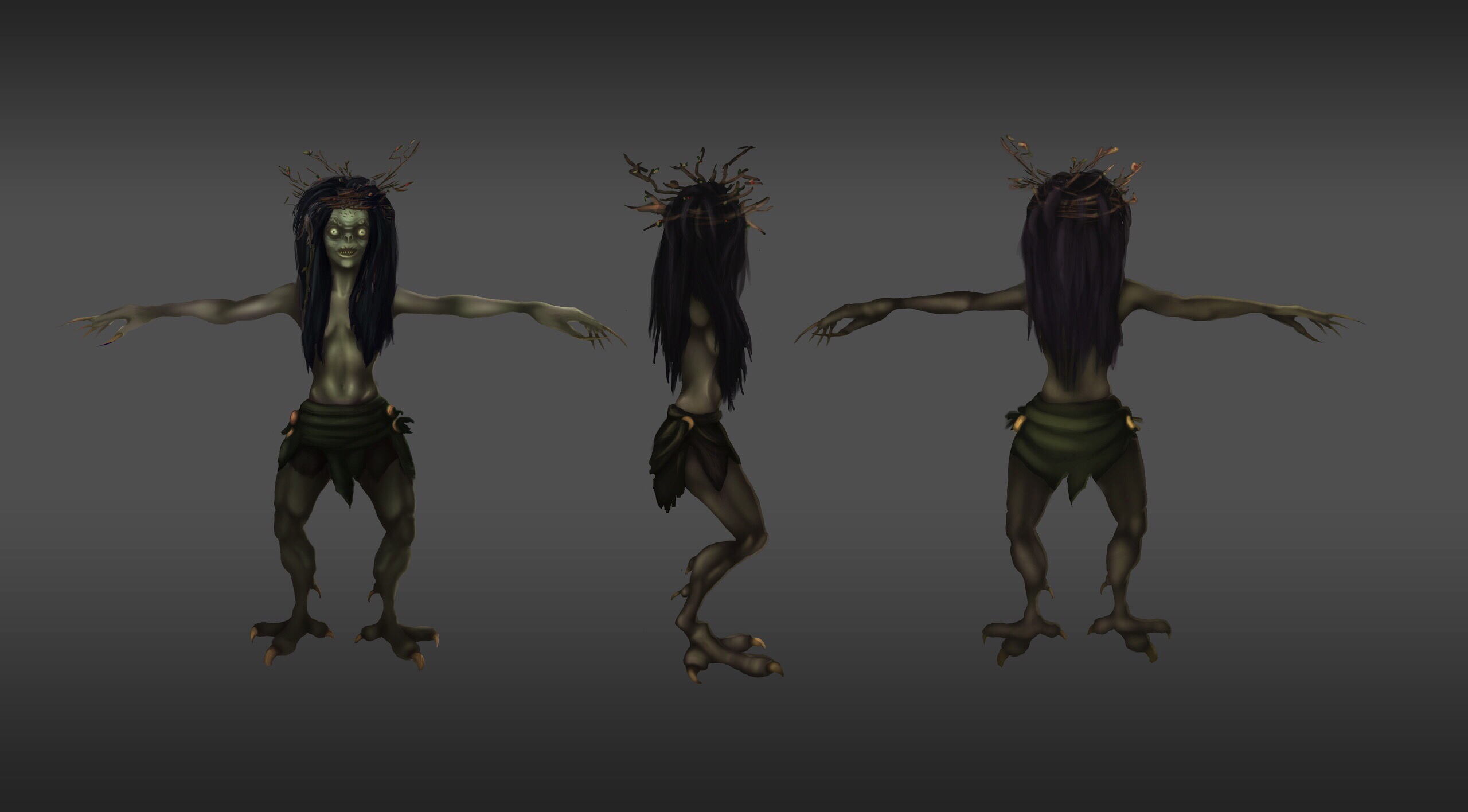 Кикимора | 3D художник, 3D аниматор