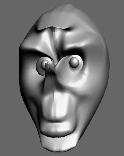 head_filled | Модель веселой головы