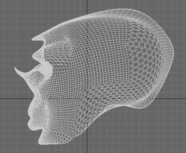 head | Модель веселой головы