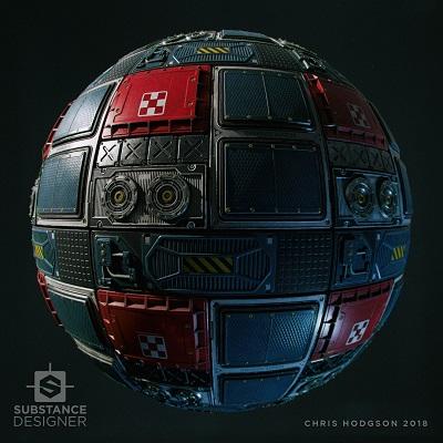 400_chris-hodgson-sci-fi-technical-hull-render-ball-01 | Приглашаем единомышленников и ищем: художника (sci-fi), программиста (JavaScript + Dart)