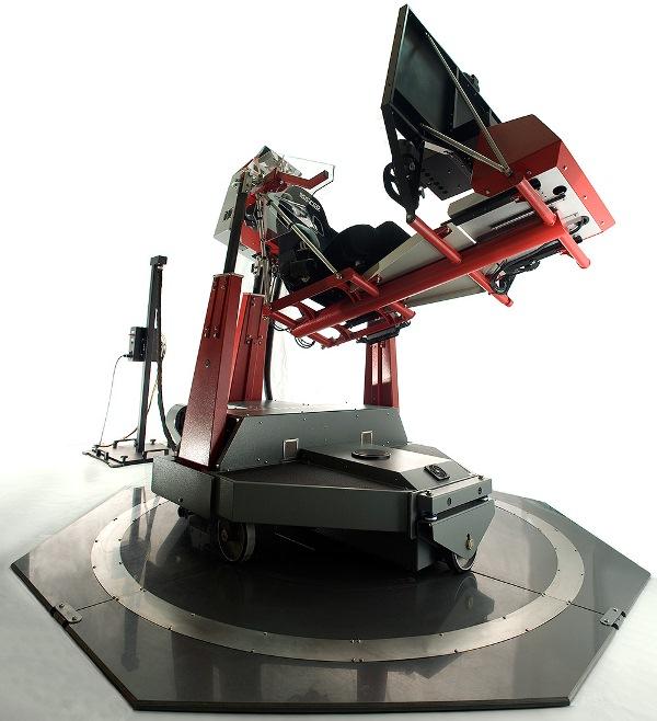 401-frontup-motion1 | Motion Pro и симулятор F-1, подвижная платформа ощущений