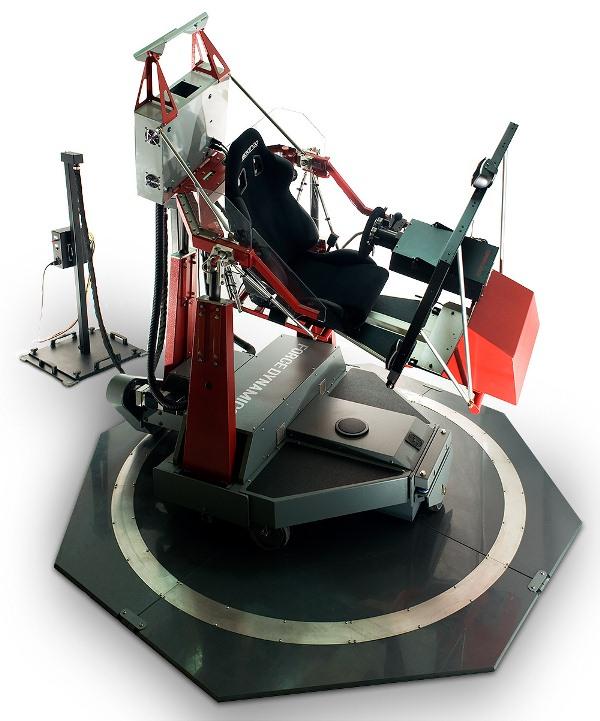 401-frontup-motion2 | Motion Pro и симулятор F-1, подвижная платформа ощущений