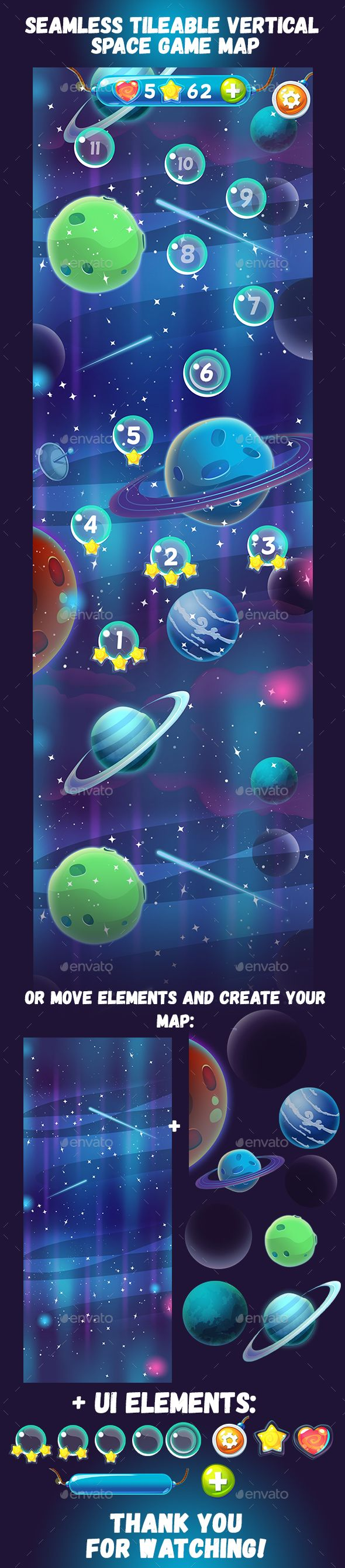 SpaceMapExample   2D-Artist ( векторная графика )