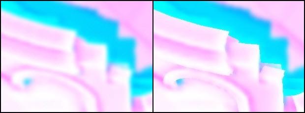 Сравнение обычного размытия и размытия с учетом глубины | Depth-based blur