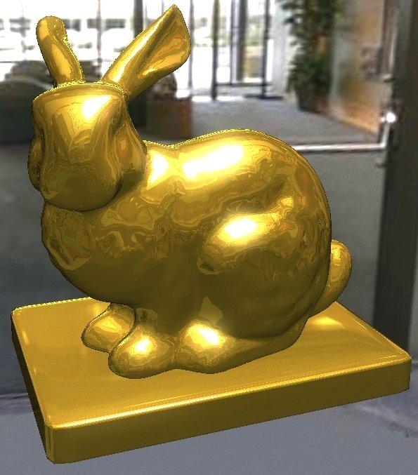 bunny.jpg | Быстрая реализация модели освещения Кука-Торренса с использованием GLSL