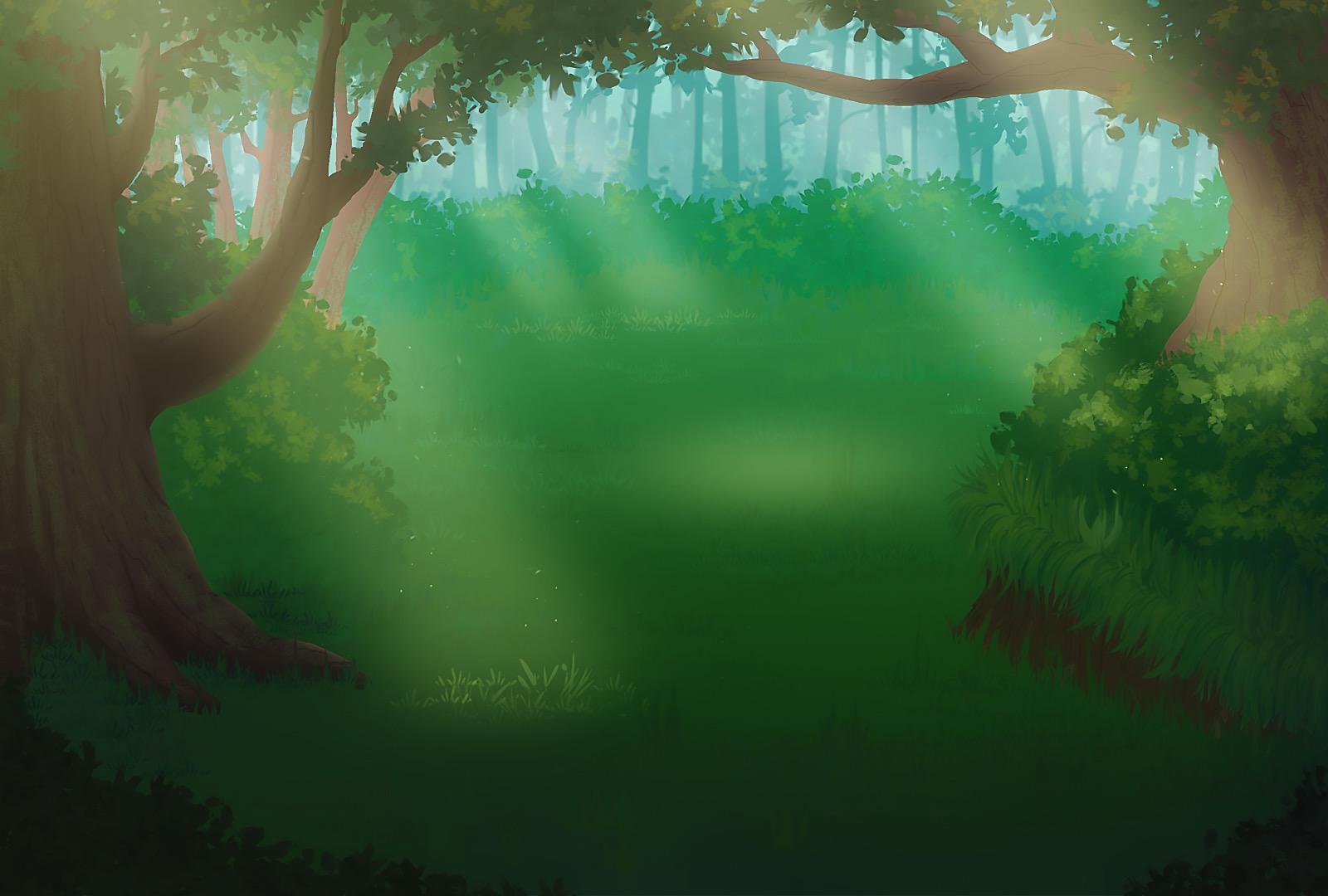 Начальный вид локации Лес | Продолжается набор в команду для разработки игры «Нирмита»: 2D Survival RPG в стиле Fantasy