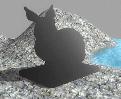 непосредственно рассеивание | Моделирование подповерхностного рассеивания