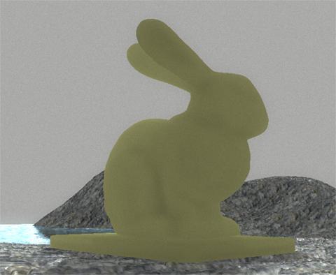 Заяц не пропускает свет | Моделирование подповерхностного рассеивания