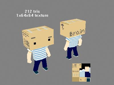 boxhead copy.jpg | Делимся моделями! :)