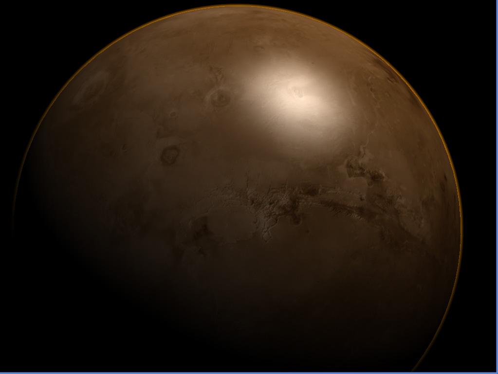 345435456456 | Атмосфера: вид из космоса и с поверхности