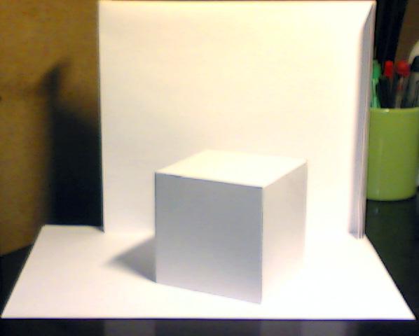 кубик из листа а3   Новички. Вам сюда!!!