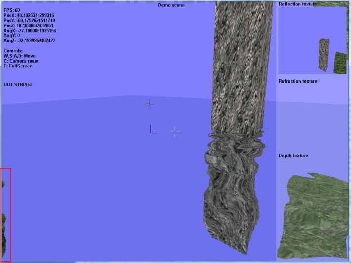 баг | Создание реалистичной поверхности воды с использованием GLSL (комментарии)