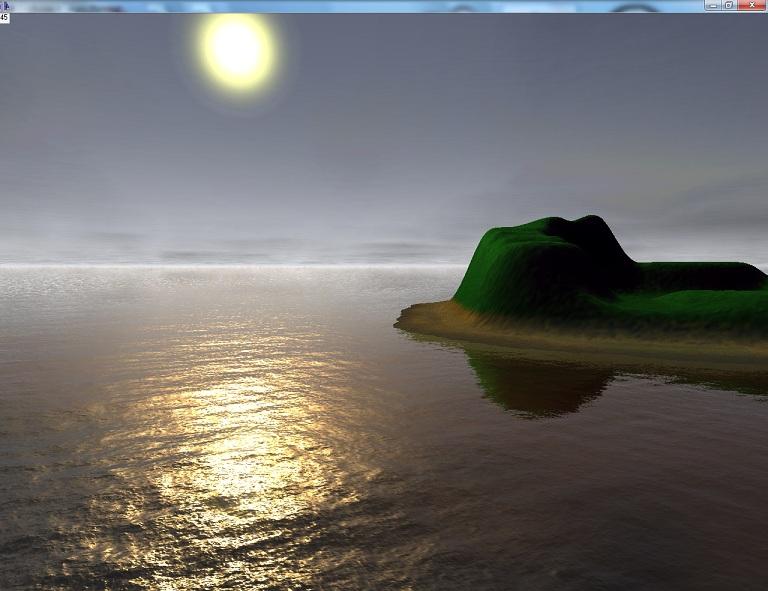 3   Создание реалистичной поверхности воды с использованием GLSL (комментарии)