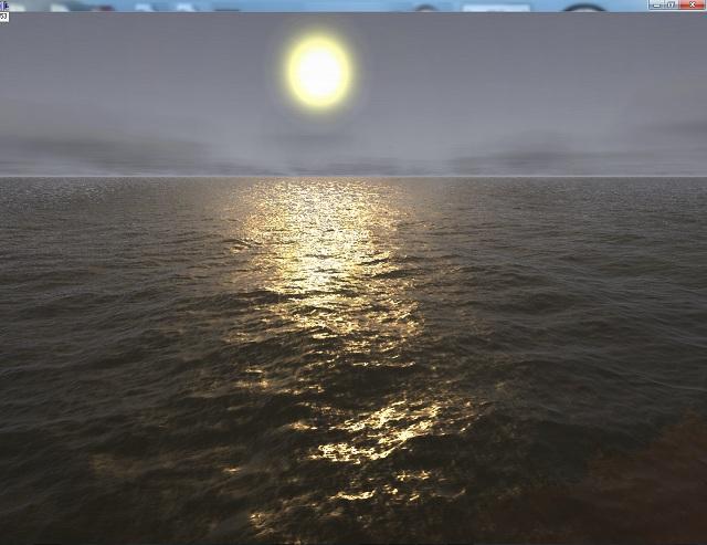 4   Создание реалистичной поверхности воды с использованием GLSL (комментарии)