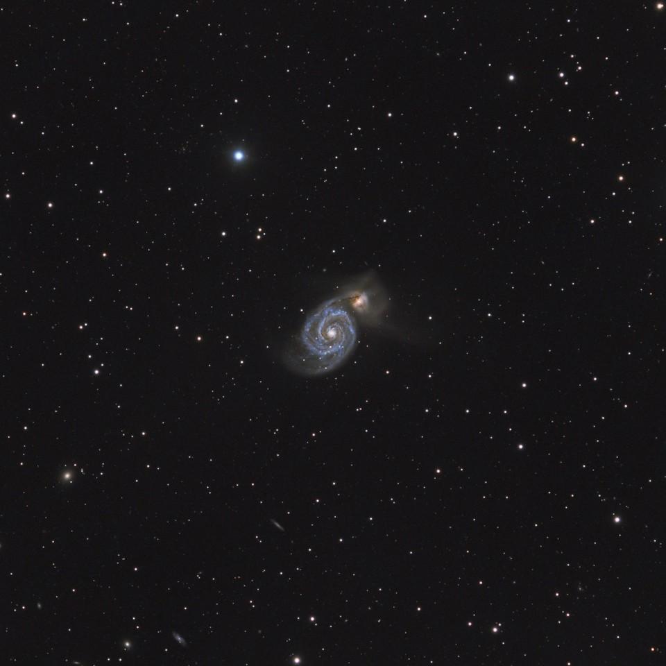 Галактика Водоворот М51