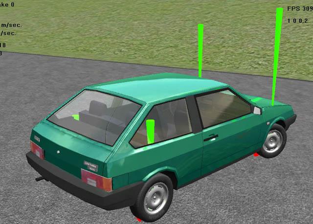 car_sim2 | Пишем симулятор гонок
