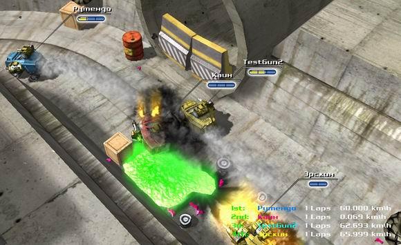 Скачать Скриншот 2 из игры Burning Cars | Burning Cars project (Public Alpha Testing).
