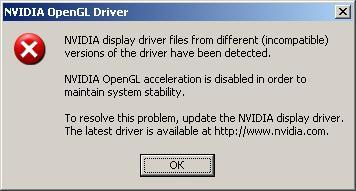 Error OpenGL