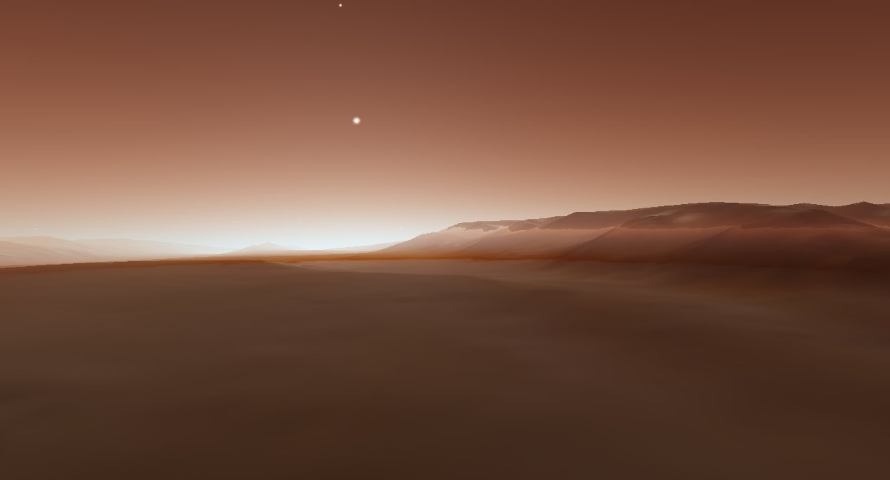 scr00026 | Атмосфера: вид из космоса и с поверхности