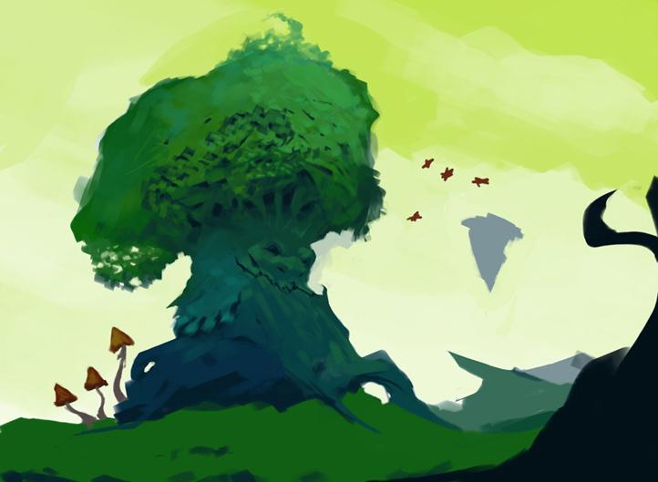 tree | Спидарт, скетчи