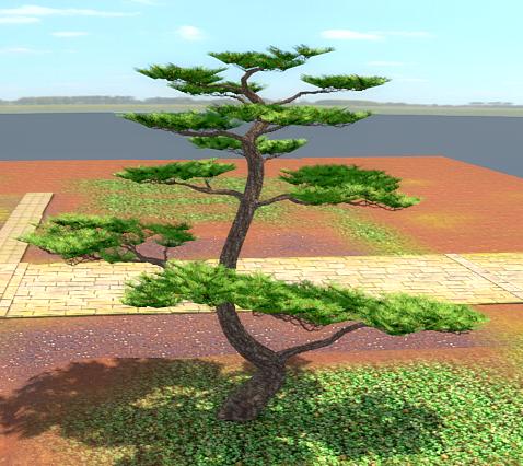 Деревцо №1 | Погроммист рисуЭ
