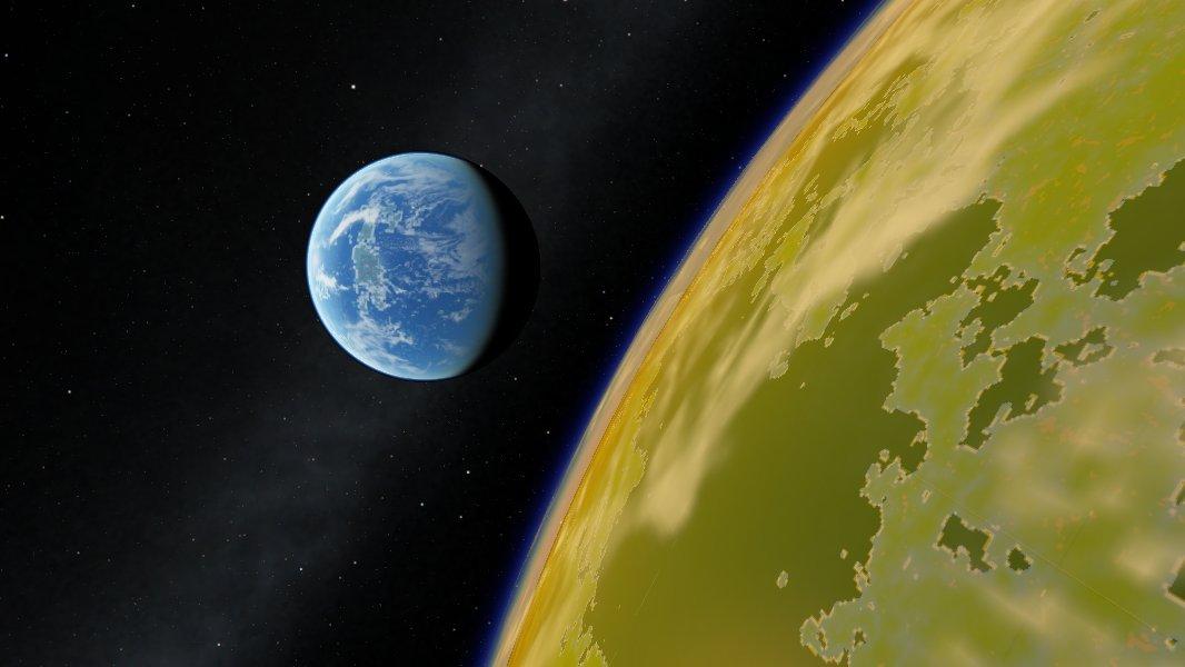 scr00064   Космический симулятор SpaceEngine