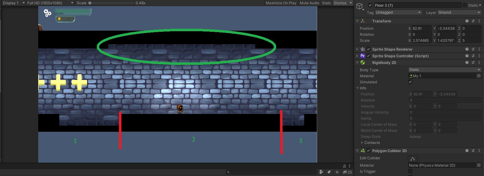 60363bd24a1d2078036559 | Как решить проблему с камерой (Perspective) в 2Д проекте на Unity?