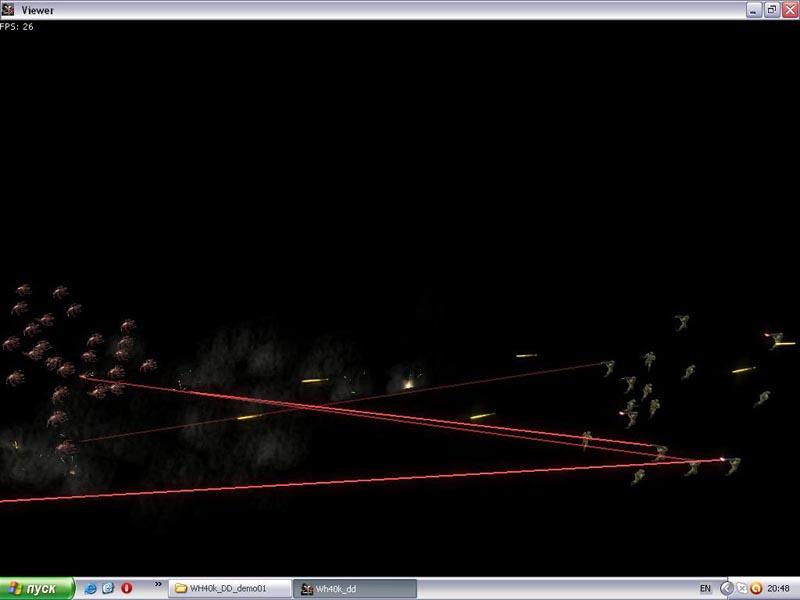Chok   Dark Days - стратегия во вселенной Warhammer 40k