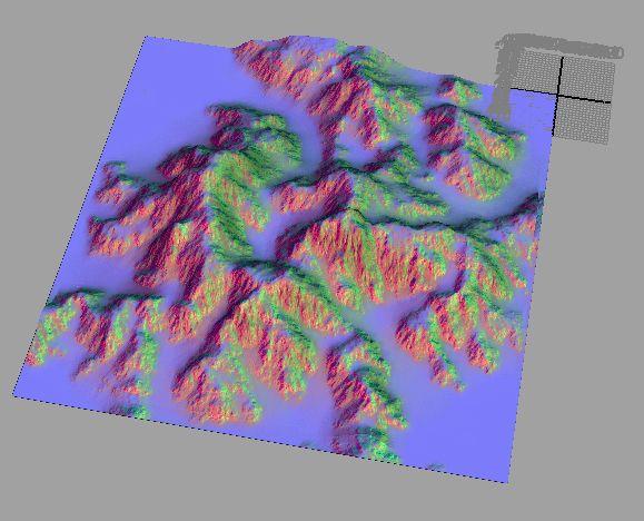 8 | Создание моделей ландшафтов