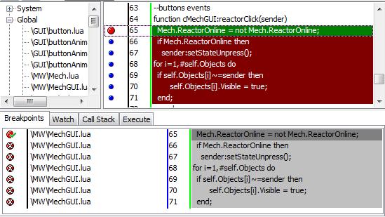 breakpoints   Пишем отладчик для Lua 5.1