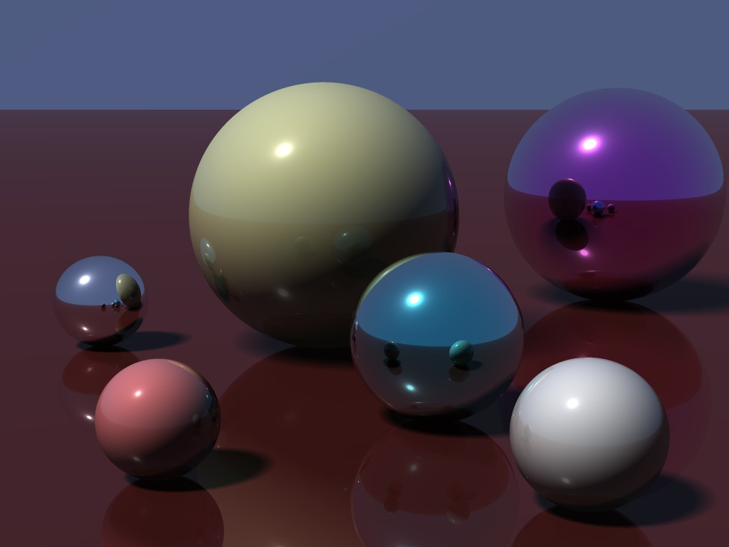Ray Tracing | ::3D Software rendering contest [finished]::