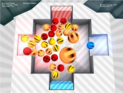 скриншот к light balls | Light Balls (arcade, unity, wip)