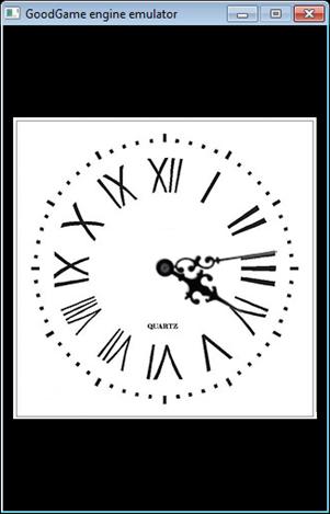 clock | Oxygine 2D C++ фреймворк