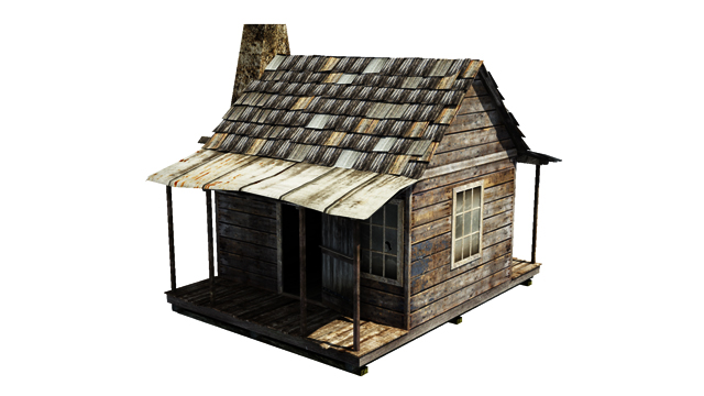 house | 3d моделлер