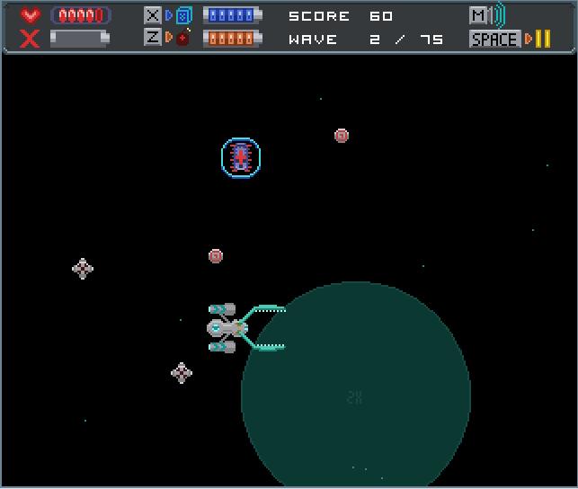 Space Bug Screen