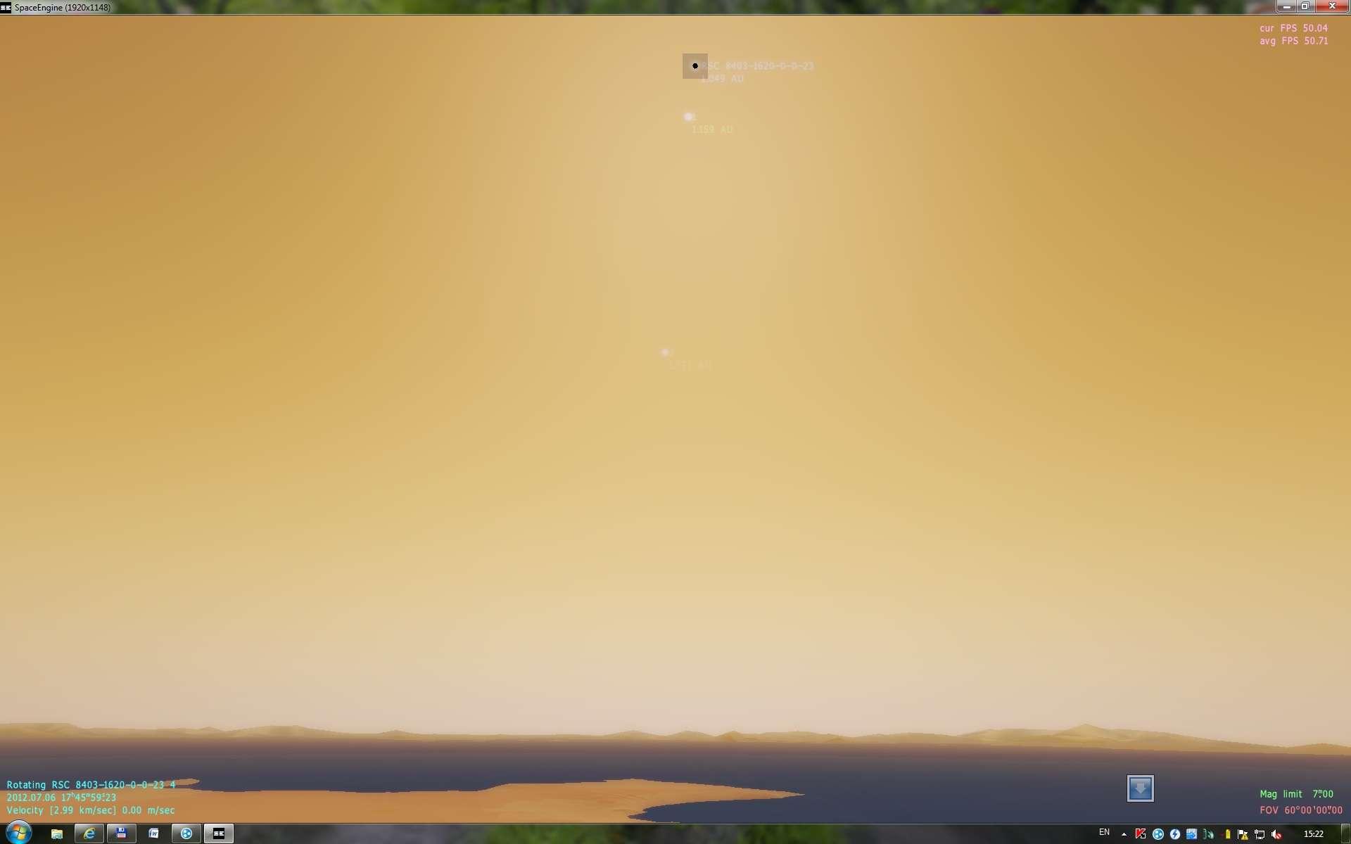 little SpaceEngine bug | Космический симулятор SpaceEngine