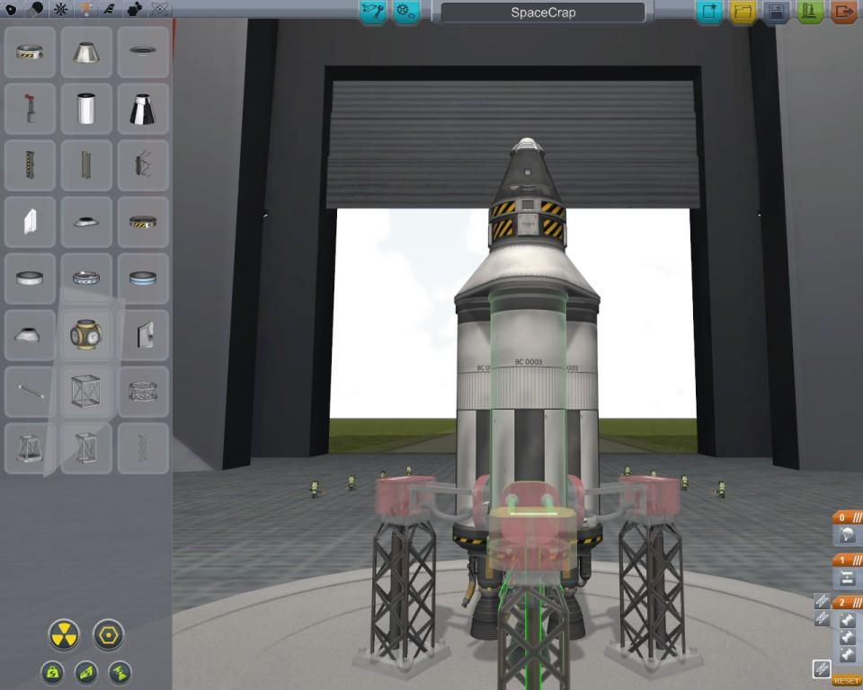 Симметрия в Kerbal Space Program 0.18.1