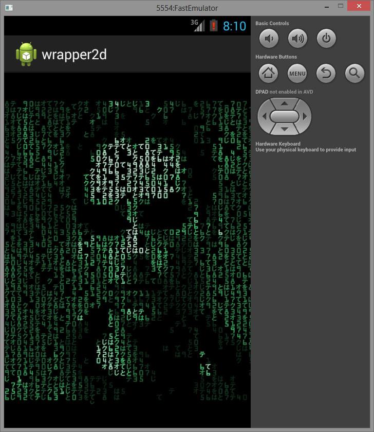 Враппер Magic Particles на Android